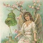 Angel with Green Bell