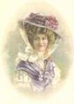 Lady with Grey Bonnet