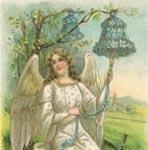 Angel with Blue Bell