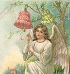 Angel with Red Bell