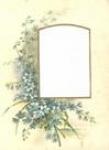 Blue Flower Mount