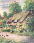 Cottage with Chickens